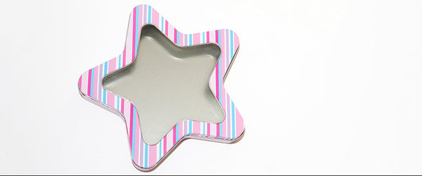 Star PVC Window Tin