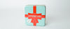 Square Striped Tea Tin