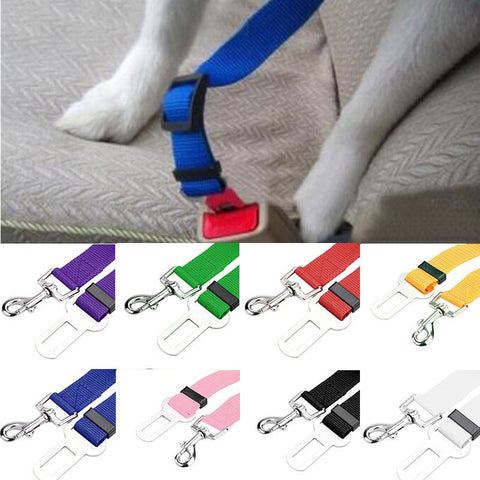 Dog/Cat Vehicle Car Seatbelt Harness Lead