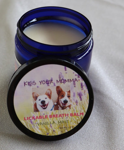 """Kiss Your Momma"" Lick-able Breath Balm"