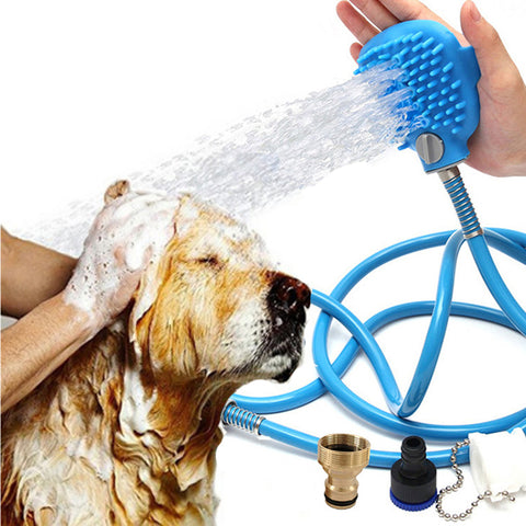 PET SHOWER SPRAYER BATHING TOOL W/MASSAGE HEAD