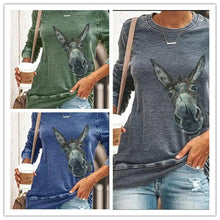 Load image into Gallery viewer, Printed long sleeve T-shirt top