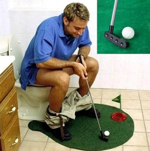 Potty Putter Mini Golf Set