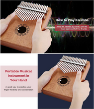 Load image into Gallery viewer, Gorgeous 17 Keys Kalimba「Buy 2 For Free Shipping」