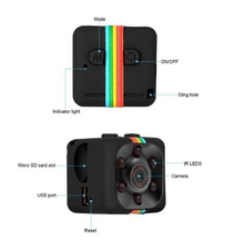 Load image into Gallery viewer, Mini Camera with Night Vision & Motion Sensor