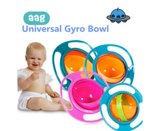 360 degree rotating bowl