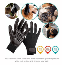 Load image into Gallery viewer, Pet Grooming Gloves For Cats, Dogs & Horse