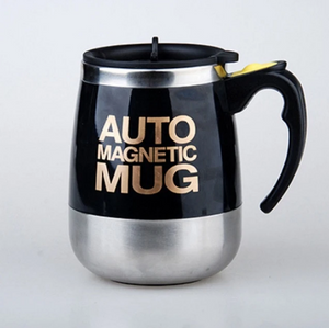 Stainless Steel Self Stirring Mug