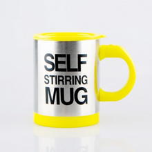 Load image into Gallery viewer, Stainless Steel Self Stirring Mug
