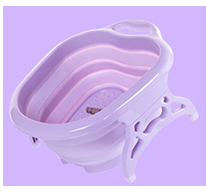 Load image into Gallery viewer, Foldable Foot Wash Basin-Sturdy Plastic Foot Basin