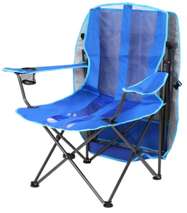 PREMIUM PORTABLE CAMPING FOLDING LAWN CHAIRS WITH CANOPY/BAG