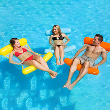 Load image into Gallery viewer, Water Hammock Recliner Inflatable Floating Bed