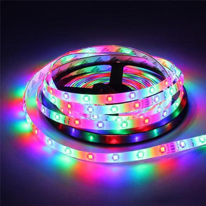 Flexible LED Strip Lights with Remote Control