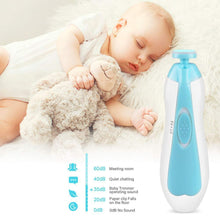 Load image into Gallery viewer, Premium LED Baby Nail Trimmer Set