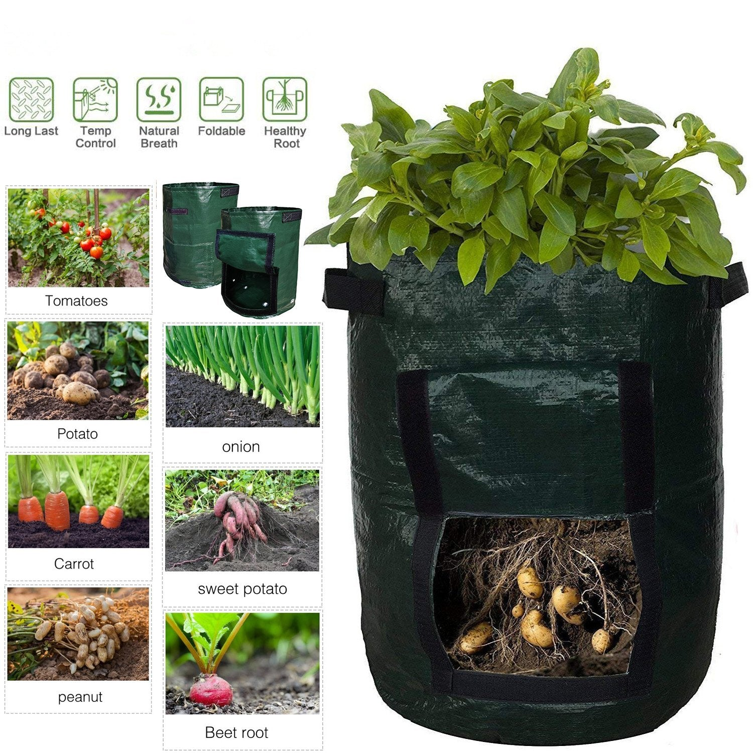 50L Large Capacity Potato Grow Planter