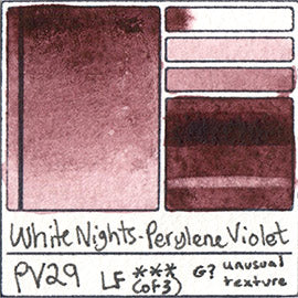 PV29 White Nights Watercolor Perylene Violet