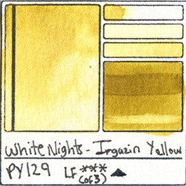 PY129 White Nights Watercolor Irgazin Yellow