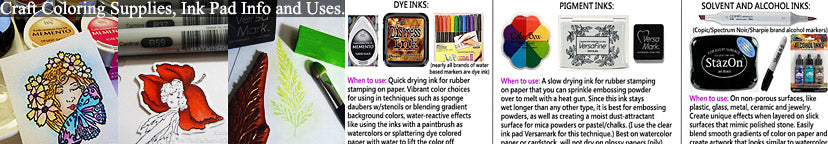 TUTORIAL-Coloring-supplies-craft-ink-pads-alcohol-inks-dye-pigment-information