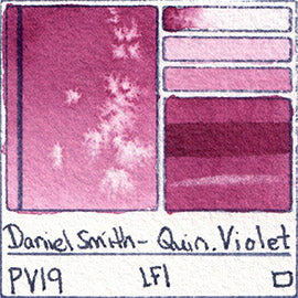 pv19 daniel smith watercolor quin violet pigment database art paint swatch