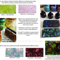 Alcohol Ink Pearls 3 Pack Shimmer Colors - Celestial, Mineral, Smolder