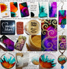 Alcohol Ink tutorial beads charms earrings jewelry making with mica powders Krylon sealing
