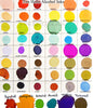 Alcohol ink color chart Kimberly Crick dye ink tim holtz adirondack