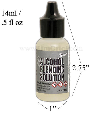 Tim Holtz Alcohol Ink Blending Solution Small 0.5oz / 14ml Mini Bottle