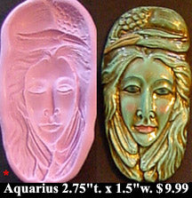 Flexible Push Mold Aquarius Egret the Water Bird