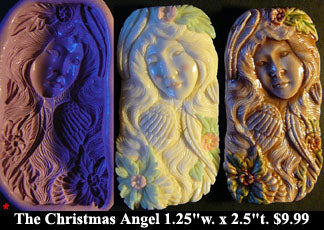 Flexible Push Mold Christmas Angel