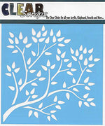 6x6 Stencil Tree Branch by Clear Scraps