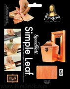 Copper Simple Leaf (Easy Peel Backing) Metal Foil Gilding Mona Lisa Speedball 18 Square Sheets