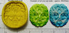 Greenman elemental spirit face mold for polymer clay craft supply