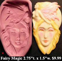Flexible Push Mold Modern Fairy Magic