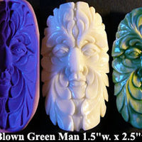 Flexible Push Mold Wind Blown Green Man