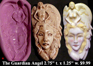 Flexible Push Mold Guardian Angel