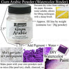 Gum Arabic Powder for DIY Watercolor Paint Making Supplies 1oz Jacquard