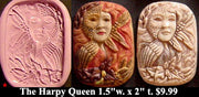 Flexible Push Mold Harpy Queen