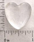 25mm Heart Shape Glass for Blank Pendant Tray