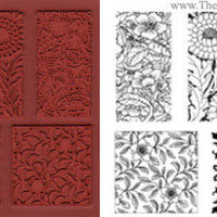 Unmounted Rubber Stamp Set Impressions #Impr-004