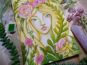 Kimberly Crick Art fairy dragonfly rose botanical portrait painting Paul Rubens 48 color set review