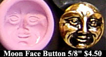 Flexible Push Mold Small Moon Face Button Cab