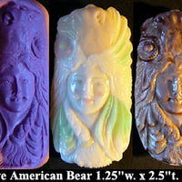 Flexible Push Mold Native American Bear Goddess