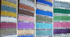 Perfect Pearls mica shimmer color chart Paul Rubens style glitter watercolor
