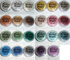 Perfect Pearls color chart mica powder rainbow pearl ex jar polymer clay