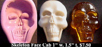 Flexible Push Mold Skeleton Face