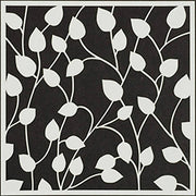 6x6 Inch Stencil Climbing Vines By The Crafters Workshop