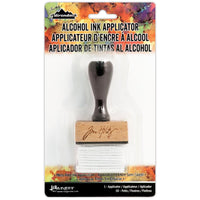 Tim Holtz Alcohol Ink Applicator Wood Handle with Felt