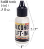 Tim Holtz Lift Ink Refill Bottle for use with Ranger or Pinata Jaquard Yupo plastic