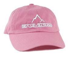 """The Classic"" Women's Baseball Hat-Bright Pink & White"