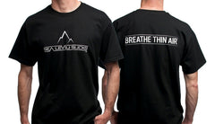 """The Breather"" Men's Short Sleeve Tee-Black & White"